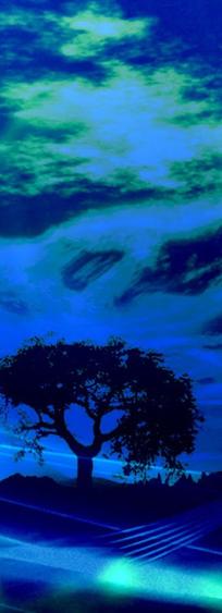 poema alberto perez en azul
